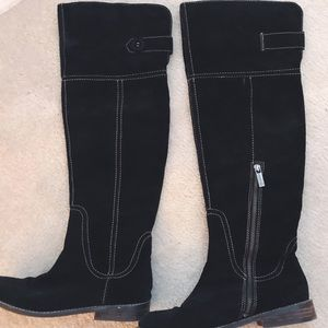 OTK Lucky Over the Knee Suede Boots